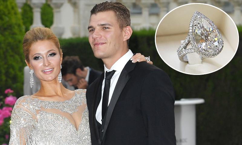 Paris Hilton y los detalles de su anillo de compromiso de 1,6 millones de euros