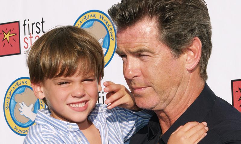 Paris, hijo de Pierce Brosnan, ¡ha dado el estirón!