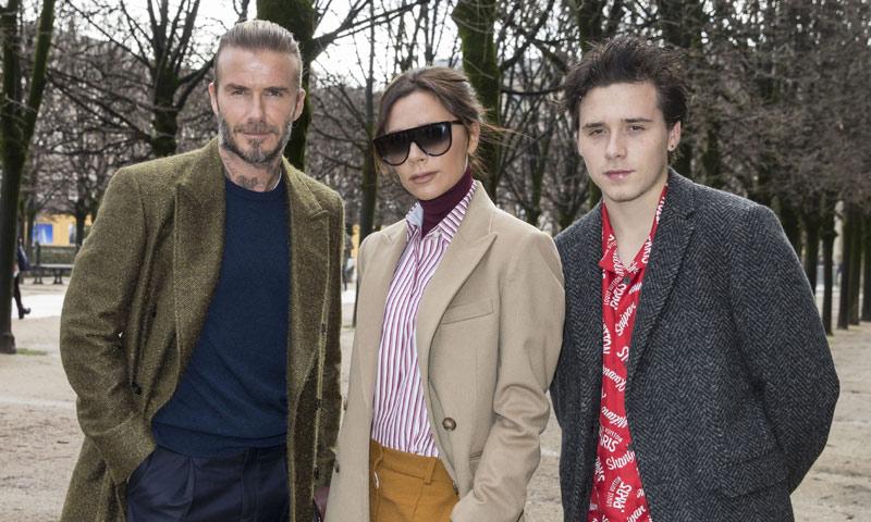 El viaje más chic de los Beckham a París