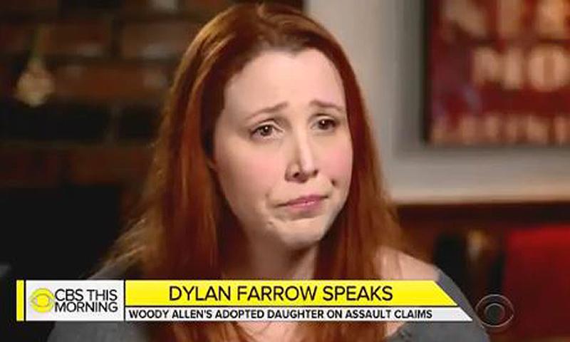 Dylan Farrow, en su entrevista más difícil y sincera: 'Soy creíble y estoy diciendo la verdad sobre mi padre'