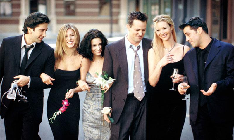 La serie 'Friends' vuelve a arrasar gracias a una curiosa imagen