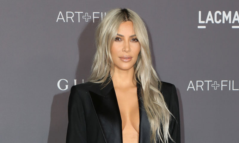 Kim Kardashian se ocupa personalmente del cuidado de su bebé, también por las noches