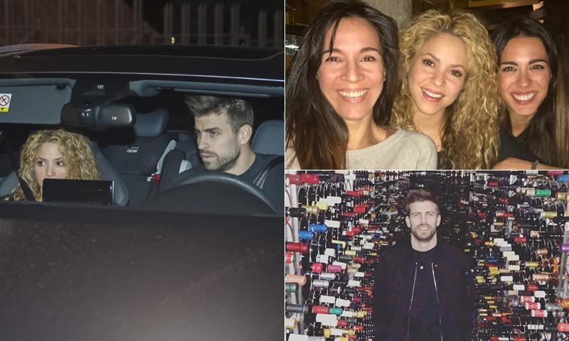 Una cata de vinos y una cena con amigos y familia: así han celebrado Shakira y Piqué su cumpleaños