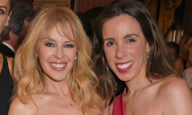 Las buenas migas de Ana Aznar y Kylie Minogue