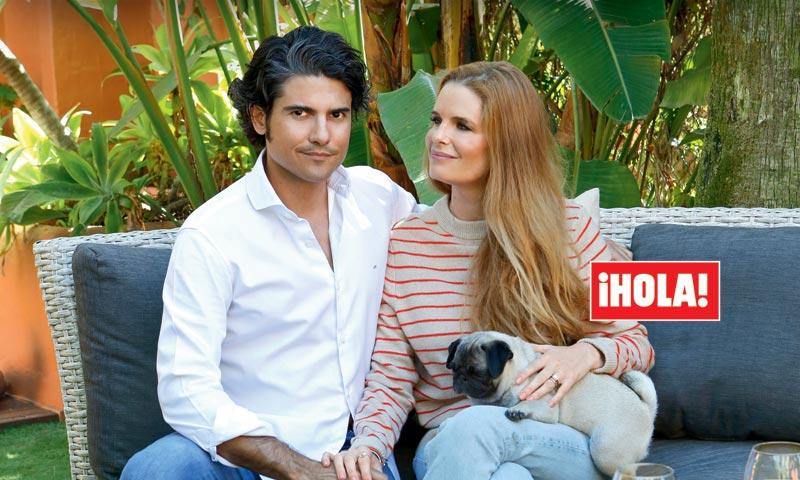 En ¡HOLA!: Olivia de Borbón y Julián Porras anuncian que esperan su segundo hijo