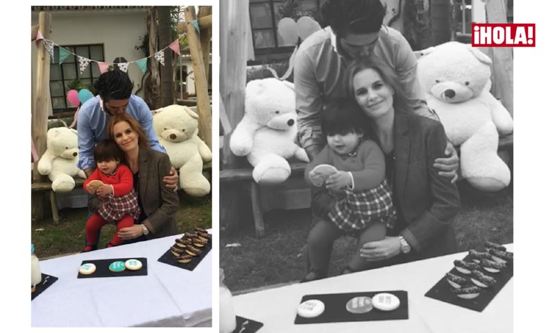 Making of: la juguetona Flavia, hija mayor de Olivia de Borbón, se prepara para ser hermana mayor