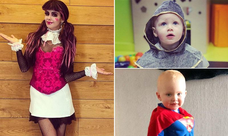 Los mejores disfraces de Carnaval de las 'celebs' y sus hijos