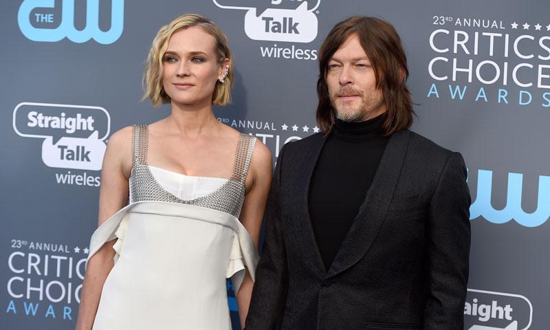 ¿Planean dar un paso más en su relación Diane Kruger y Norman Reedus?