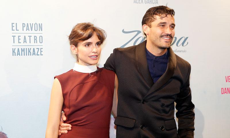 Álex García y Verónica Echegui, protagonistas de una curiosa 'baby shower'