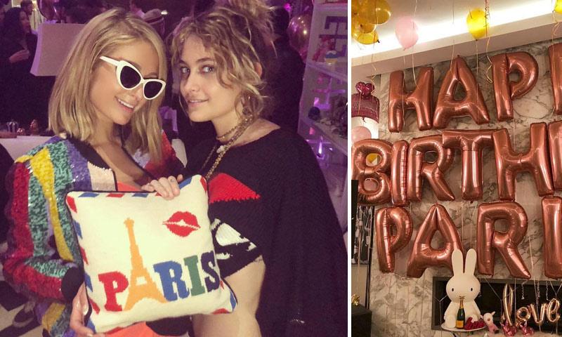 Fiesta por todo lo alto, con estrellas inesperadas, en el cumpleaños de Paris Hilton