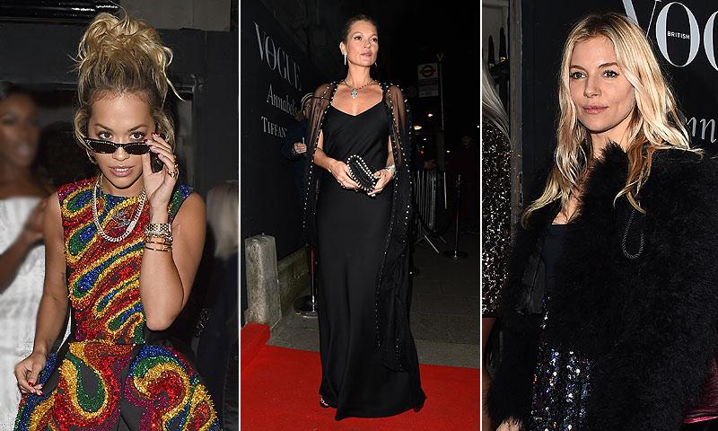 Las estrellas del cine deslumbran en la fiesta posterior a los BAFTA