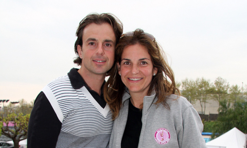 Familiares y amigos salen en defensa de Arantxa Sánchez Vicario y la madre de Josep Santacana contraataca