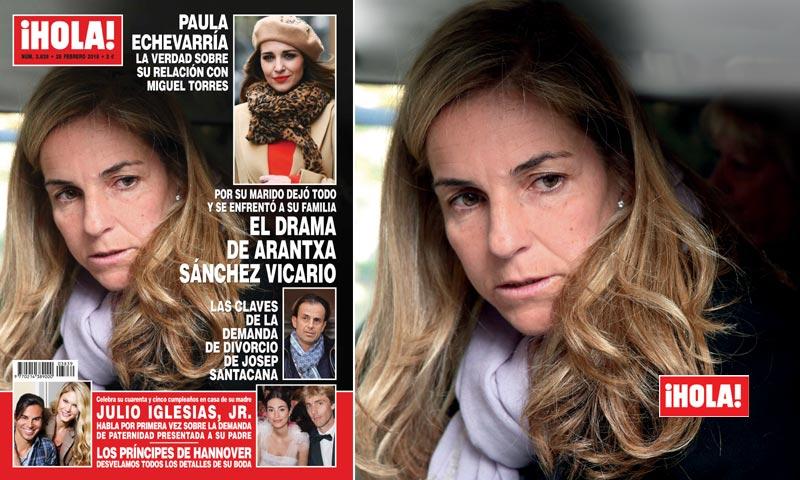 En ¡HOLA!, el drama de Arantxa Sánchez Vicario