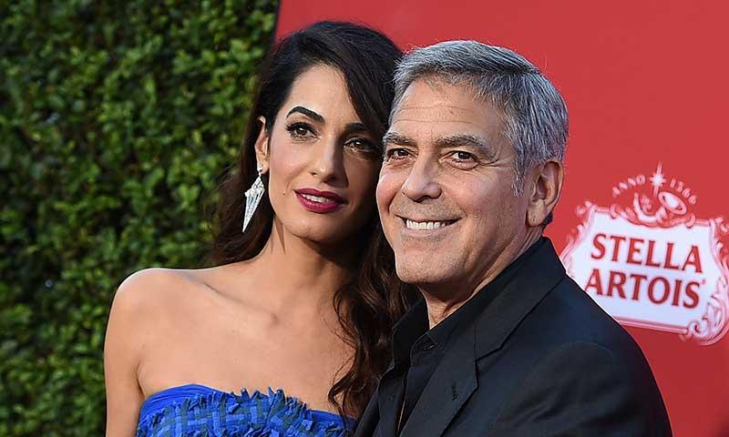 El nuevo gesto solidario de George y Amal Clooney