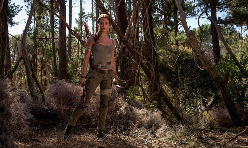Alicia Vikander da un paso más como Lara Croft y consigue algo que Angelina Jolie nunca tuvo