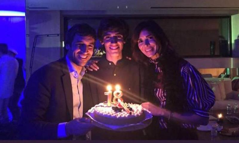 El increíble regalo de Raúl González y Mamen Sanz a su hijo Jorge por su 18º cumpleaños