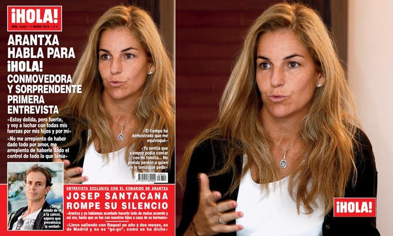 Arantxa Sánchez Vicario habla para ¡HOLA!: sus palabras valientes y conmovedoras en su primera entrevista