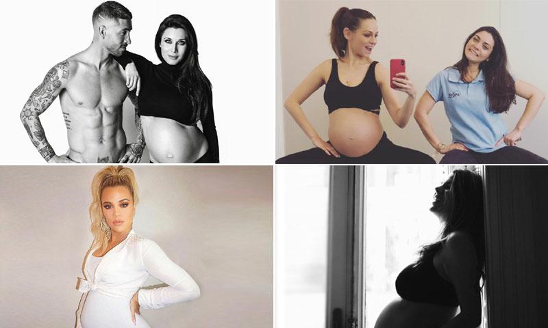 Eva González, Pilar Rubio... así viven las 'celebrities' la recta final de su embarazo