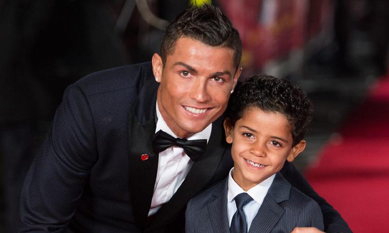 Cristiano Ronaldo Jr., tras los pasos del futbolista: 'Papá, voy a ser como tú'
