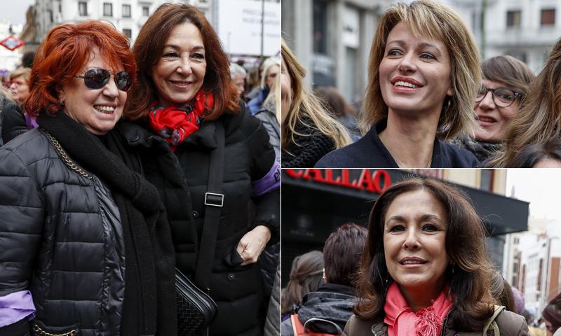Ana Rosa Quintana, Susanna Griso e Isabel Gemio se suman a la huelga feminista del 8M