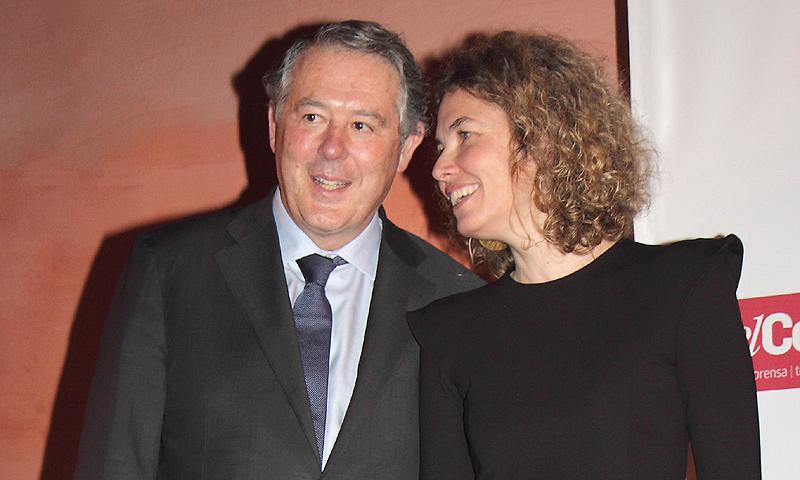 EXCLUSIVA: José María Michavila y Alejandra Salinas, la imagen de la felicidad