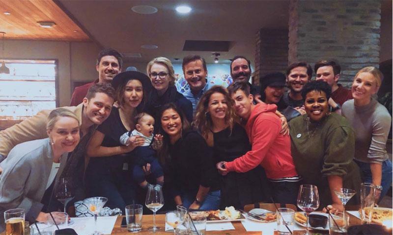Así ha sido el reencuentro de los actores de 'Glee'