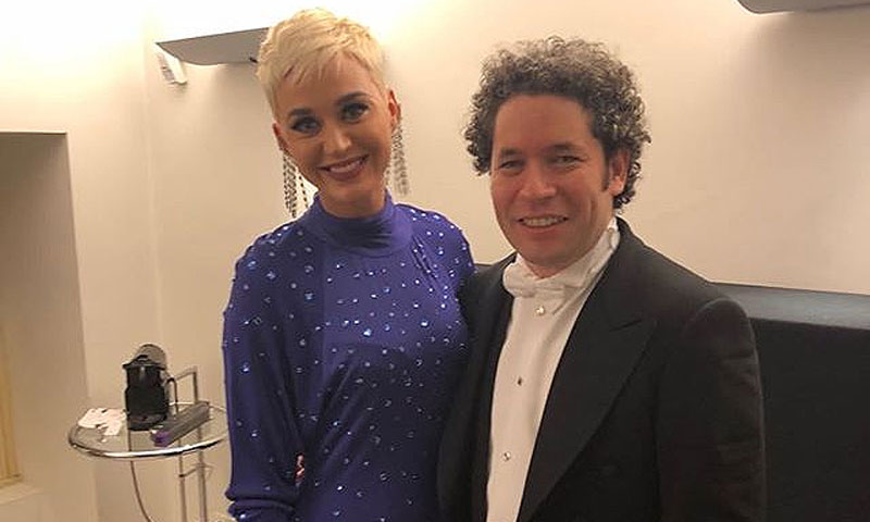 Katy Perry, una sorprendente fan de Gustavo Dudamel, marido de María Valverde