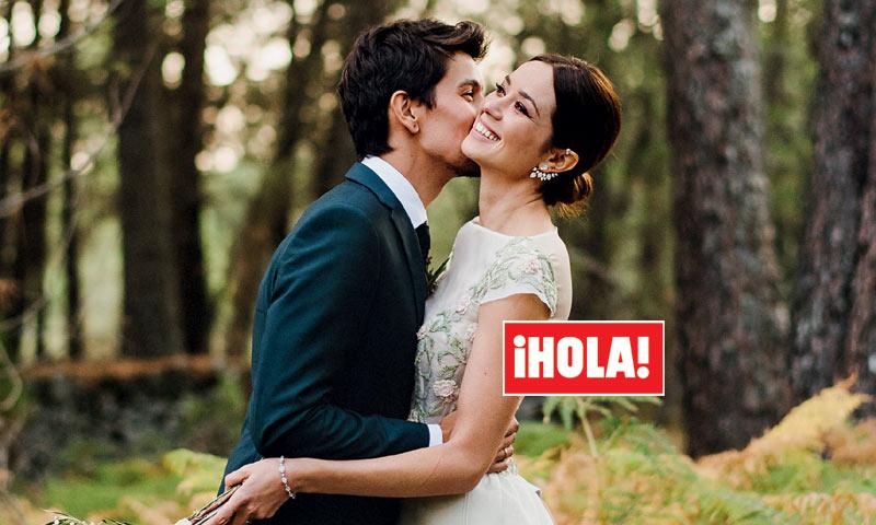 En ¡HOLA!, Dafne Fernández espera su primer hijo