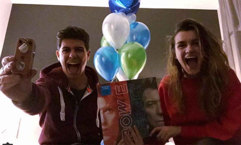 Alfred, de OT, celebra su cumpleaños a lo grande con Amaia, ¿qué le ha regalado?