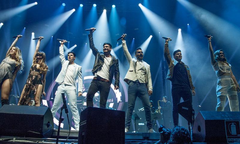 Los chicos de OT arrasan en Madrid con su concierto más reivindicativo
