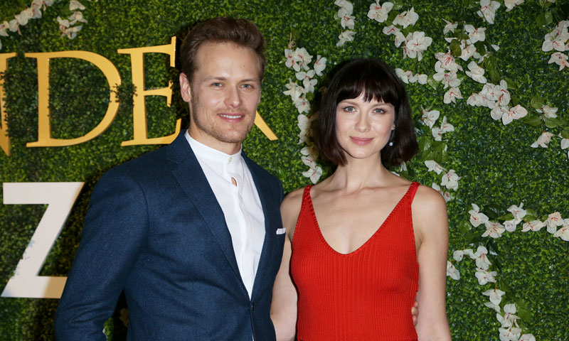 Caitriona Balfe y Sam Heughan, el reencuentro más esperado de los protagonistas de 'Outlander'