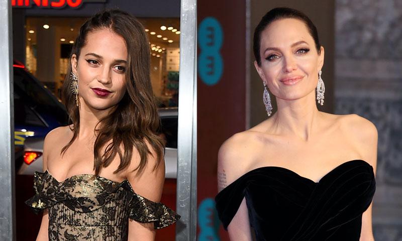Angelina Jolie vs. Alicia Vikander, dos formas muy diferentes de ser Lara Croft