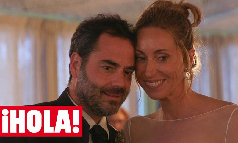 ¡HOLA! entra en exclusiva en la romántica boda de Gemma Mengual y Enric Martín
