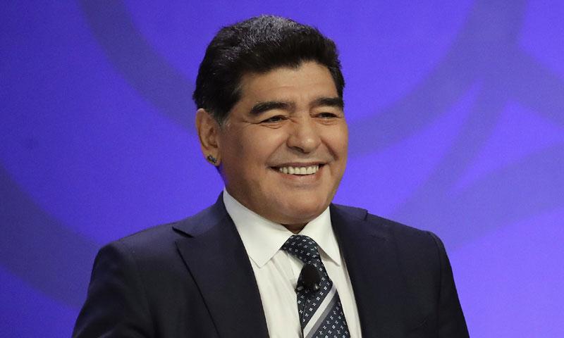 Diego Armando Maradona explica su ausencia en la boda de su hija Dalma