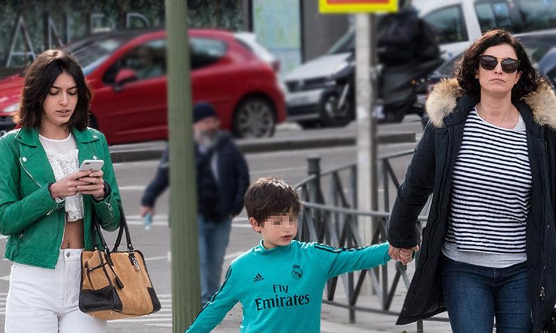 Primero con su hija luc a y ahora con el peque o mart n for Blanca romero y sus hijos