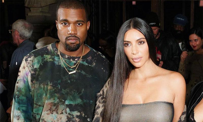 Kim Kardashian consigue, con gran esfuerzo, su primera foto familiar