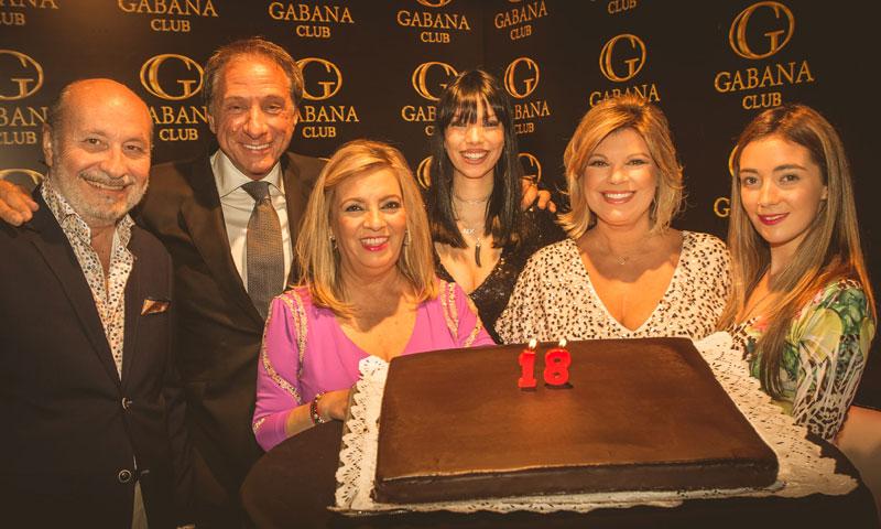 La familia Campos arropa a Alejandra Rubio en la fiesta de su 18 cumpleaños
