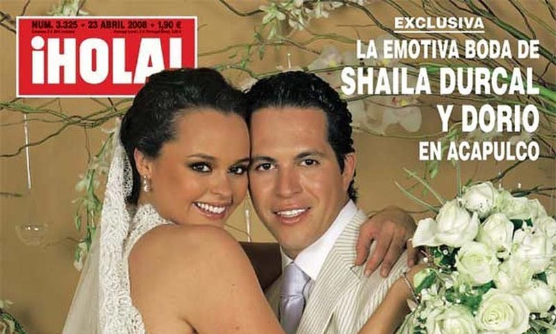El romántico mensaje de Shaila Dúrcal para celebrar su décimo aniversario de boda