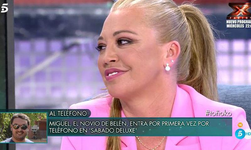 Belén Esteban ¿boda a la vista? Su novio Miguel desvela el misterio en 'Sábado Deluxe'