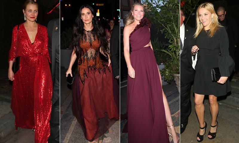 ¡Derroche de 'glamour'! Gwyneth Paltrow celebra una multitudinaria fiesta preboda rodeada de estrellas