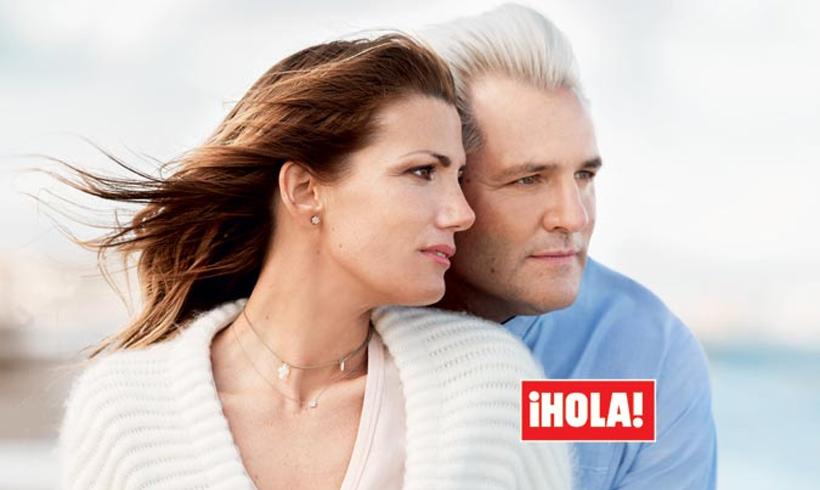 Mayte Cañizares explica el motivo por el que su marido y ella han concedido la entrevista a ¡HOLA!