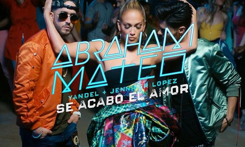 No te pierdas el videoclip de 'Se acabó el amor', la colaboración de Abraham Mateo y Jennifer Lopez