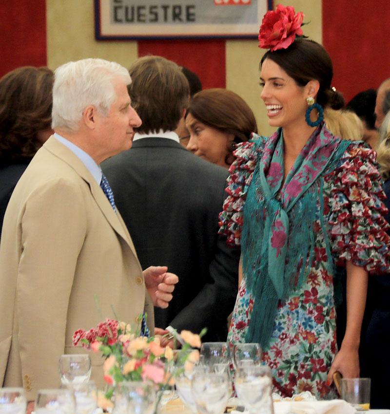 Sofía Palazuelo y el Duque de Alba