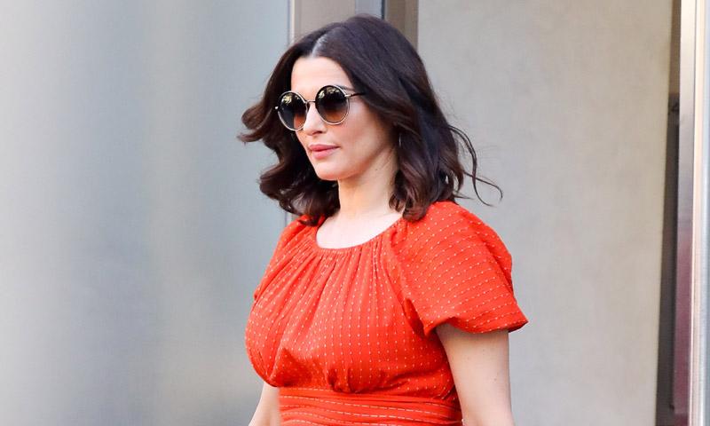 Rachel Weisz presume de embarazo a sus 48 años