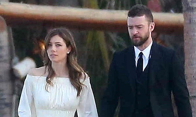 EXCLUSIVA: Jessica Biel y Justin Timberlake, invitados perfectos en la boda del hermano de la actriz