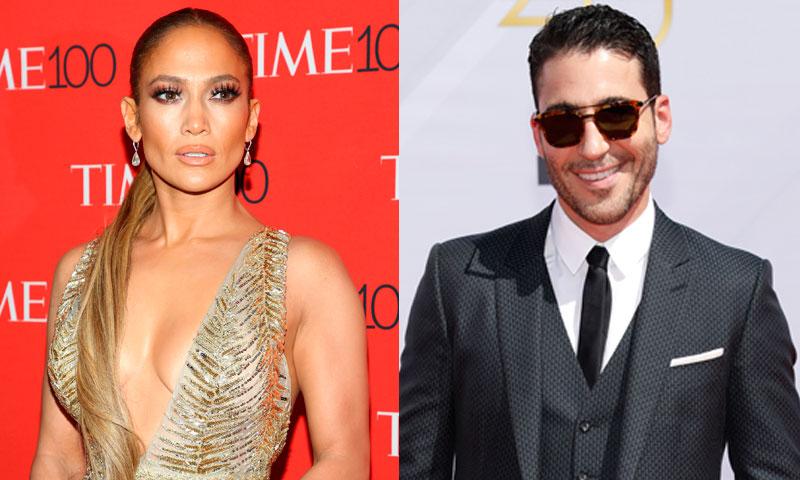 Miguel Ángel Silvestre y Jennifer Lopez juntos pero no revueltos en los premios Billboard Latinos