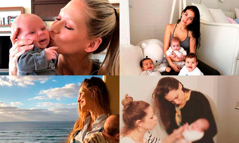 ¿Qué conocidas mamás celebran su primer Día de la Madre?