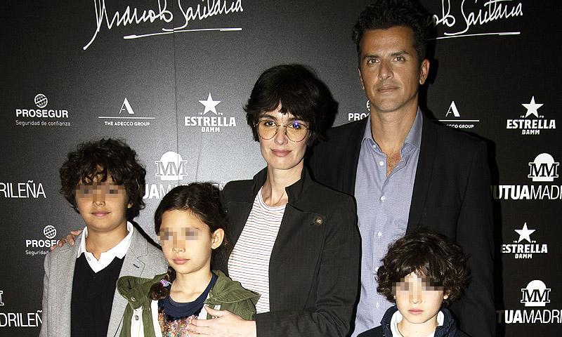 Paz Vega se lleva a sus hijos al Charity Day del Mutua Madrid Open