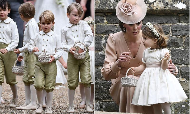 George y Charlotte, los pajes que todos quieren en la boda de Harry y Meghan Markle