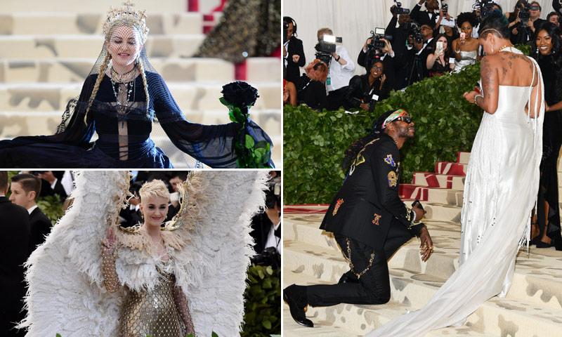 Llegadas impresionantes, 'looks' de impacto y hasta una petición de mano: repasamos lo mejor de la gala Met